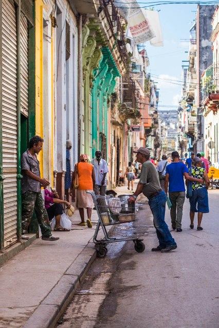 Calles de la Habana, Cuba 2017